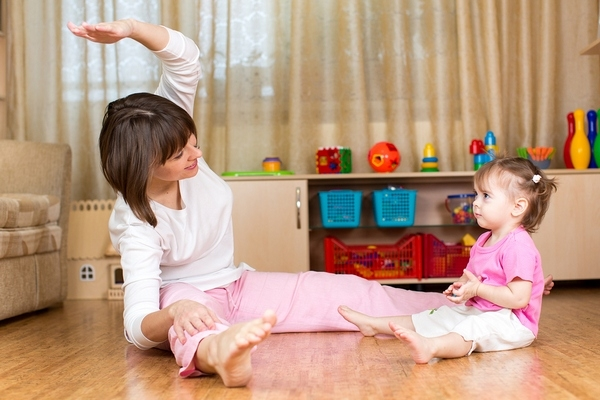 Benefits of baby-mom exercises